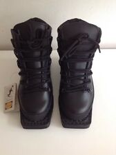 Telemark Vibram Black Leather Ski/ Snow Boots Size 5 BNWT