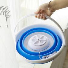 Folding Bucket Washing Machine Ultrasonic Turbine Mini Small Portable Dormitory