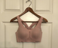 Victoria Secret Angel Max Sport Maximum Support Encapsulated Bra Blush Pink 32D