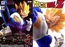 Dragon Ball DBZ Super Saiyan Vegeta Banpresto SCultures Tenkaichi Figure Japan