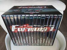 stock lotto BOX COFANETTO 15 DVD LA GRANDE AVVENTURA DELLA FORMULA 1 F1 Nuovo