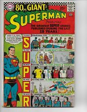 SUPERMAN 193 - F+ 6.5 - JUSTICE LEAGUE CAMEO - 80 PAGE GIANT - G-31 (1967)