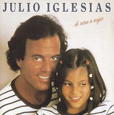 JULIO IGLESIAS - CD - DE NINA A MUJER - ( Japan 35 8P-1 )