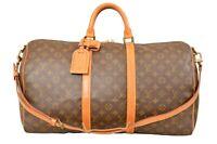 Louis Vuitton Monogram Keepall 50 Bandouliere Travel Bag Strap M41416 - YF02173