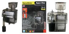 Aqua One NanoSkim 40 Protein Skimmer Aquarium Fish Tank Reef Marine Nano Hang On