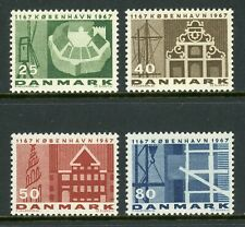 Denmark Scott #432-435 MNH Copenhagen 800th ANN $$