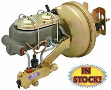 """55,56,57 Chevy 8"""" Brake Booster / Master Cylinder Combo Complete - 5557BB2"""