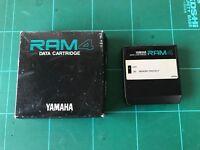YAMAHA Data Memory Cartridge RAM4 for DX7 ii FD/D/S TX802 RX 5/7 New battery!!