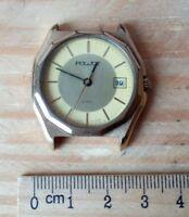 Russian watch POLJOT Quartz vintage USSR wristwatch Soviet Russian men's