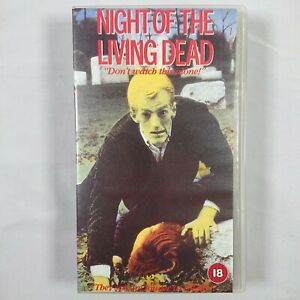 Night Of The Living Dead - Small Box VHS PAL 1994 4 Front Video