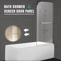 Modern 55 Quot X31 Quot Glass Shower Door 1 4 Quot Clear Glass Pivot