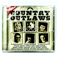 Country Outlaws 2CD Set BRAND NEW SEALED MUSIC ALBUM CD - AU STOCK