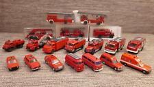 Modellautos 1:87 Feuerwehr Konvolut Wiking/Herpa/Roco