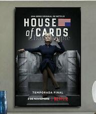 2C333 House of Cards Season 6 Deco Home Print Art Silk Poster