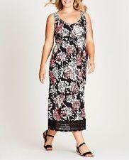 FLORAL CROCHET  MAXI DRESS Size 18 FREE POST (AUTOGRAPH) RRP $90