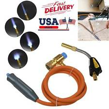 MAPP MAP-pro Propane Self-Igniting Gas Welding Turbo Torch With 5' Hose