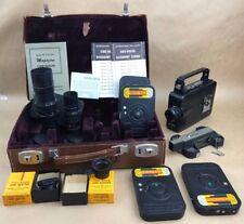 MAGAZINE CINE KODAK 16mm PH 431 SIGNAL CORPS U.S. ARMY MILITARY CAMERA SET -RARE