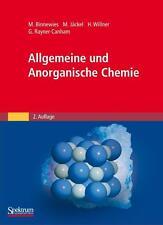 Binnewies, M: Allgemeine und Anorganische Chemie von Geoff Rayner-Canham, Manfred Jäckel, Michael Binnewies und Helge Willner (2010, Gebundene Ausgabe)