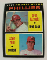 1971 Greg Luzinski # 439 Rookie Stars RC Philadelphia Phillies Topps Baseball