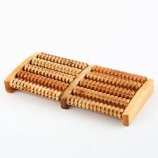 Wooden Foot Roller Massage Relax Stress Relief Feet Massager 27cm Width Watch TV