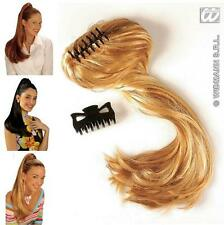 Ladies Blonde Coloured Hair Extension Piece - Pony Tail Ponytail