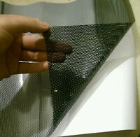 30x107cm Flyeye Headlight Tinting Perforated Mesh Film Like Flyeye