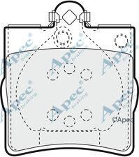 PASTIGLIE FRENO POSTERIORE per MERCEDES-BENZ CLASSE C T-Model Genuine APEC PAD1063