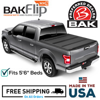 "Bakflip MX4 Hard Folding Tonneau Cover Fits 15-20 Ford F-150 5'6"" Bed"