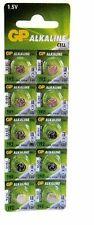 10 x GP 192 LR41 1.5V Batteries GP192 AG3 392 SR41