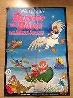 Filmposter * Kinoplakat * A1 * Bernard und Bianca - Die Mäusepolizei * EA 1977