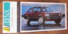 1981 FORD LYNX CAR MODEL -K9