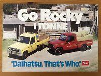 1987 Daihatsu Rocky 1 Tonne original Australian sales brochure