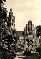 Berlin Ost Hauptstadt DDR Postkarte 1963 Lusienhain Blick zum Rathaus Gebäude