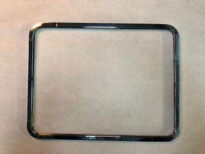 VW T2 Split Chromed Aluminium Pop Out Side Window Frame & Glass 1950 -1967 C9671