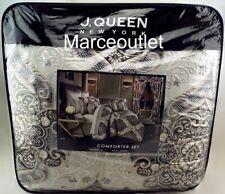 J. Queen New York Desiree King Comforter, Shams & Skirt Set Silver