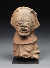 Authentique buste ancestral en terre cuite Nok Nigéria 300 BC-200 AC. 2 Tests TL