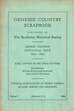 GEORGE EASTMAN CENTENNIAL ISSUE 1854-1954 - GENESEE COUNTRY SCRAPBOOK - Kodak