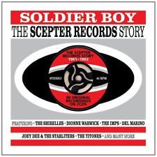 Soldier Boy-Scepter Records Story 1961-1962 2-CD NEW SEALED Shirelles/Del Marino