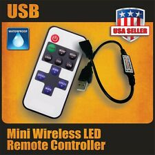 RF USB Wireless Remote Dimmer Mini Controller