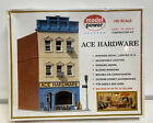 Model Power HO Scale ACE Hardware Store Lighted Building Kit #461