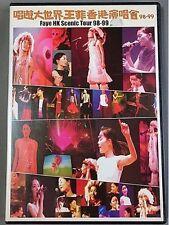王菲 王靖雯 Faye wong 唱遊大世界 香港演唱會98-99 DVD Hongkong press w/OBI