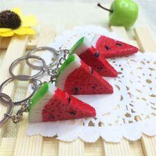 Melon Watermelon Healthy Charm Colorful Jewelry Key Ring Key Chain Pendant