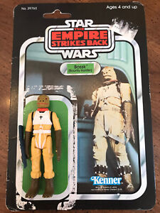 1980 Star Wars Bossk Bounty Hunter Action Figure Complete W/RARE Card Back 🔥🔥