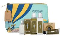 L'occitane Verbena Discovery Set Hand Cream EDT Gel Lotion EDT Pouch *FreePost