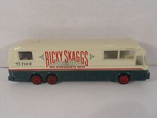 Vintage 1993 RICKY SKAGGS Eagle Coach Die-Cast Tour Bus ~ Road Champs Toy