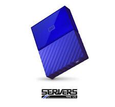 Western Digital My Passport 4TB External WDBYFT0040BBL-WESN Hard Drive - BLUE