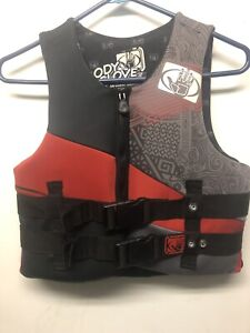 Kids life jacket Body Glove Youth Type III PFD Ski Vest Wake Boarding 50-90 lbs