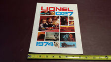 Lionel Trains - 1974 Original 20 Page O27 Train Catalog