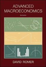 Advanced Macroeconomics by David Romer (2005, Hardcover, Revised edition)