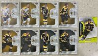 2019-20 ENGRAINED 9x BRUINS LOT ORR MARCHAND BOURQUE SENYSHYN FEEDERIC + /49